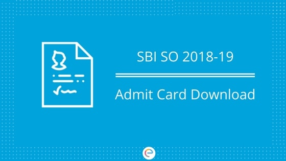 sbi specialist officer exam 2014 admit card download