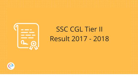 SSC CGL Tier II Result