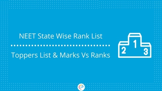 NEET State Wise Rank List