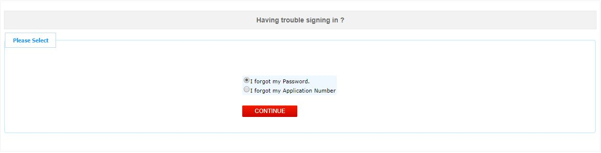 JEE Main Application Form_Forgot Password