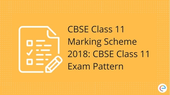 Cbse Class 11 Marking Scheme: Detailed Marks Distribution