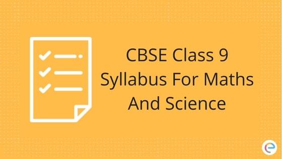 CBSE Class 9 Syllabus