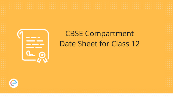 CBSE Compartment Date Sheet for Class 12