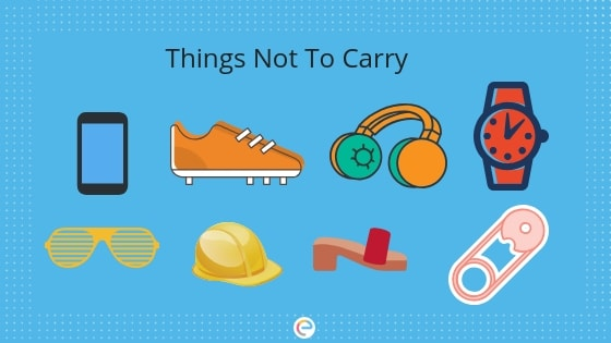 Things not to carry in NEET Exam Hall