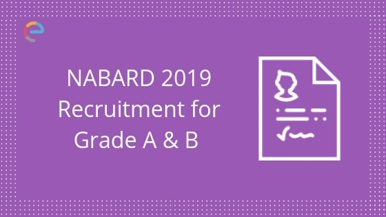NABARD Recruitment 2019 embibe