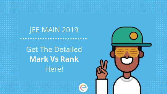 jee main marks vs ranks