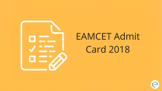EAMCET Admit Card
