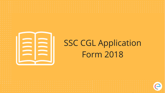 SSC CGL Application Form