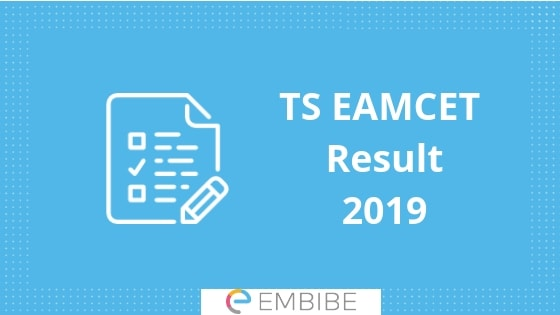 TS EAMCET Result 2019 Released! Check Your TS EAMCET Result & Rank Card Here
