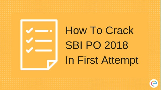 How To Crack SBI PO In First Attempt