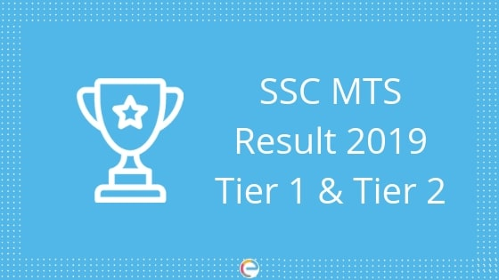SSC MTS Result 2019: Check SSC MTS Tier-1 Result Here
