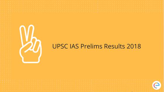 UPSC Prelims Result