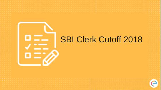 SBI Clerk Cutoff