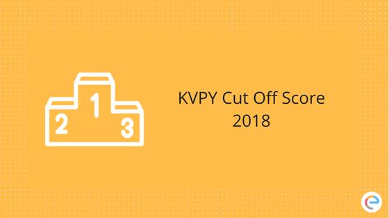 KVPY Cut Off Score