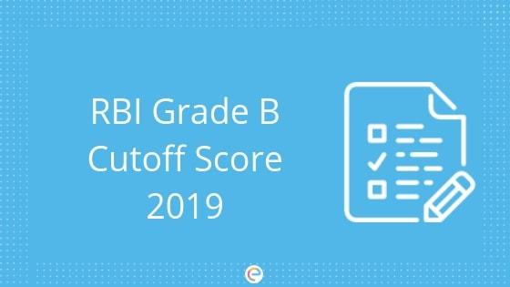 RBI Grade B Cutoff