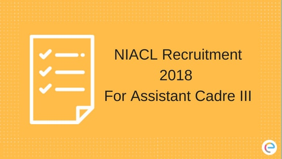 NIACL Recruitment 2018