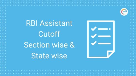 RBI Assistant Cutoff