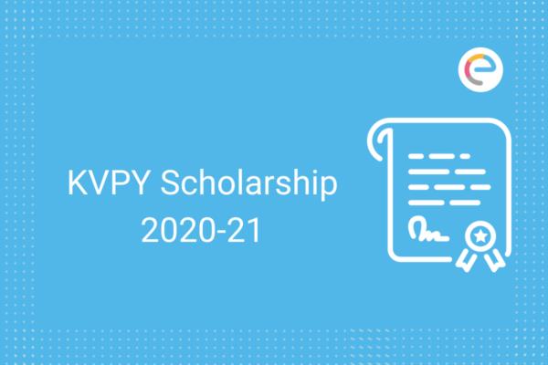 kvpy scholarship 2020