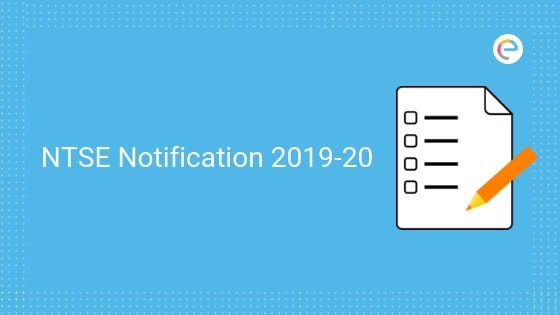 NTSE Notification 2019-20-Embibe