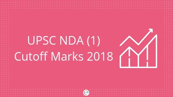 UPSC NDA Cutoff Marks 2018 1