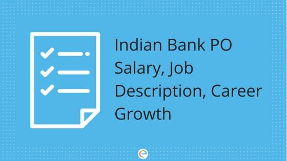 Indian Bank PO Salary