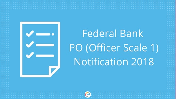 Federal Bank PO Notification