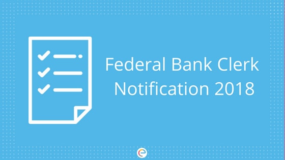 Federal Bank Clerk Notification