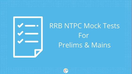 RRB NTPC Mock Test