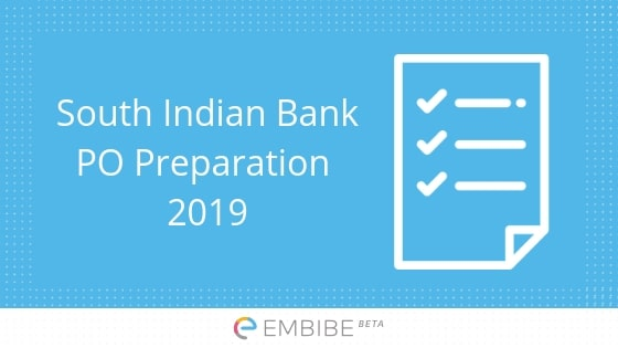 South Indian Bank PO Preparation