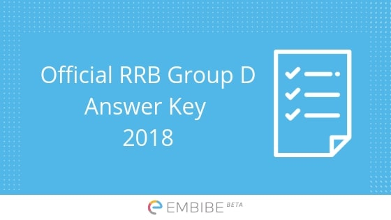 rrb group d answer key to be released indianrailways gov in how