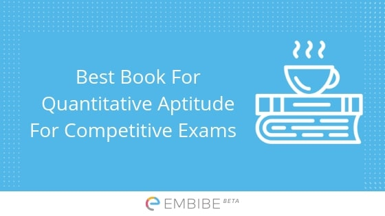 Best Book For Quantitative Aptitude For Competitive Exams