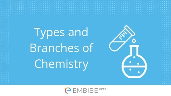 Types and Branches of Chemistry