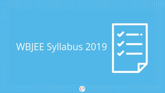 WBJEE Syllabus 2019
