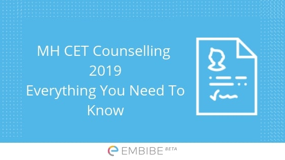 MH CET Counselling 2019