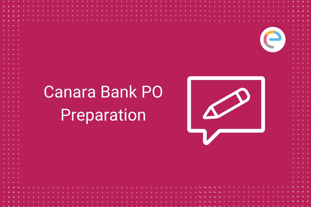 canara-bank-po-preparation