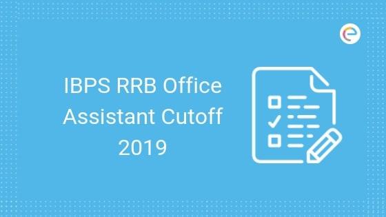 IBPS RRB Office Assistant Cut off