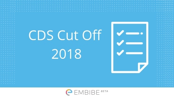 CDS Cutoff 2018