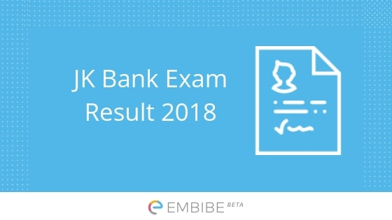 JK Bank Result 2018