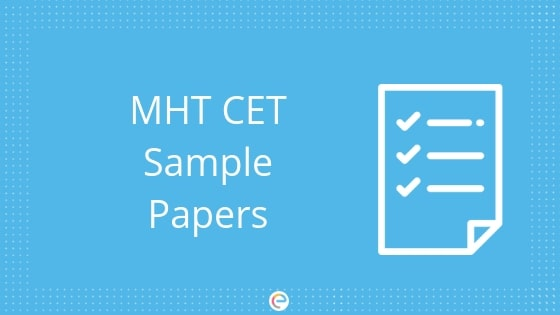 MHT CET Sample Papers