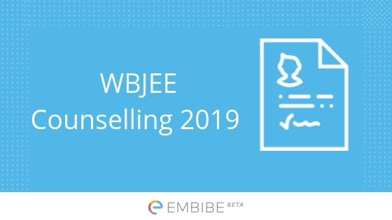 WBJEE Counselling 2019