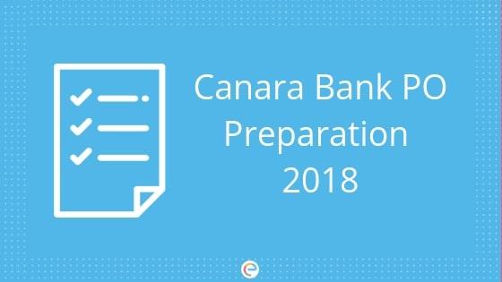canara bank po preparation