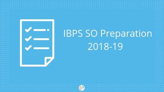 IBPS SO Preparation