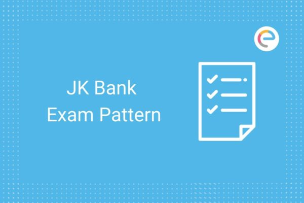 JK Bank Exam Pattern