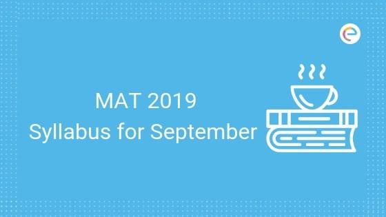 MAT Syllabus 2019- Embibe
