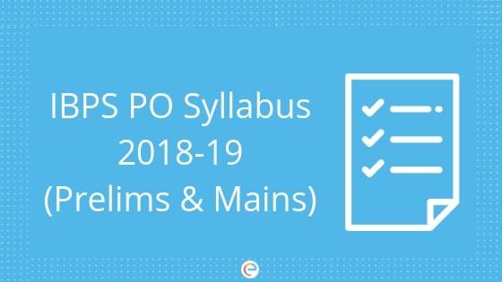 IBPS PO Syllabus