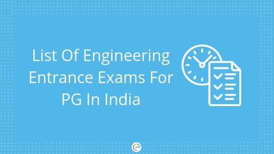 Entrance Exams For PG