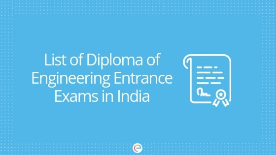 Diploma Of Engineering Entrance Exams