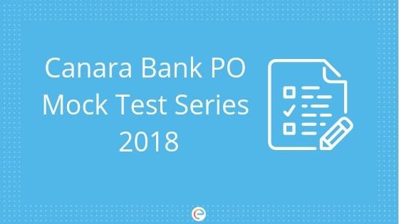 canara bank po mock test