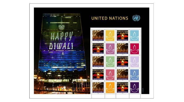 diwali stamp