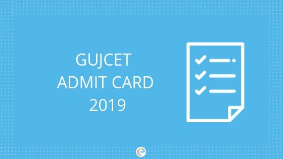 Image result for GUJCET Hall Ticket / Admit Card 2019